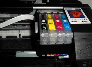 картридж epson в принтере